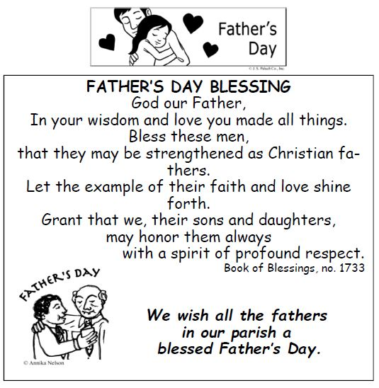 20170618 Fathers Day Blessing