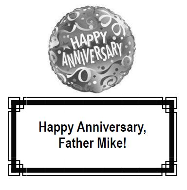 20170528 Fr Mike Anniversary