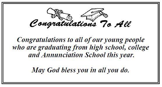 20170528 God Bless Graduates