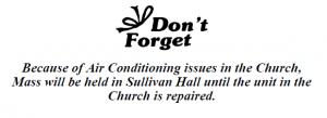 20170716 AC broke mass at sullivan hall
