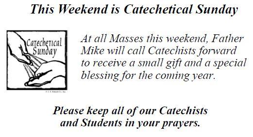 20170915 Catechist Sunday