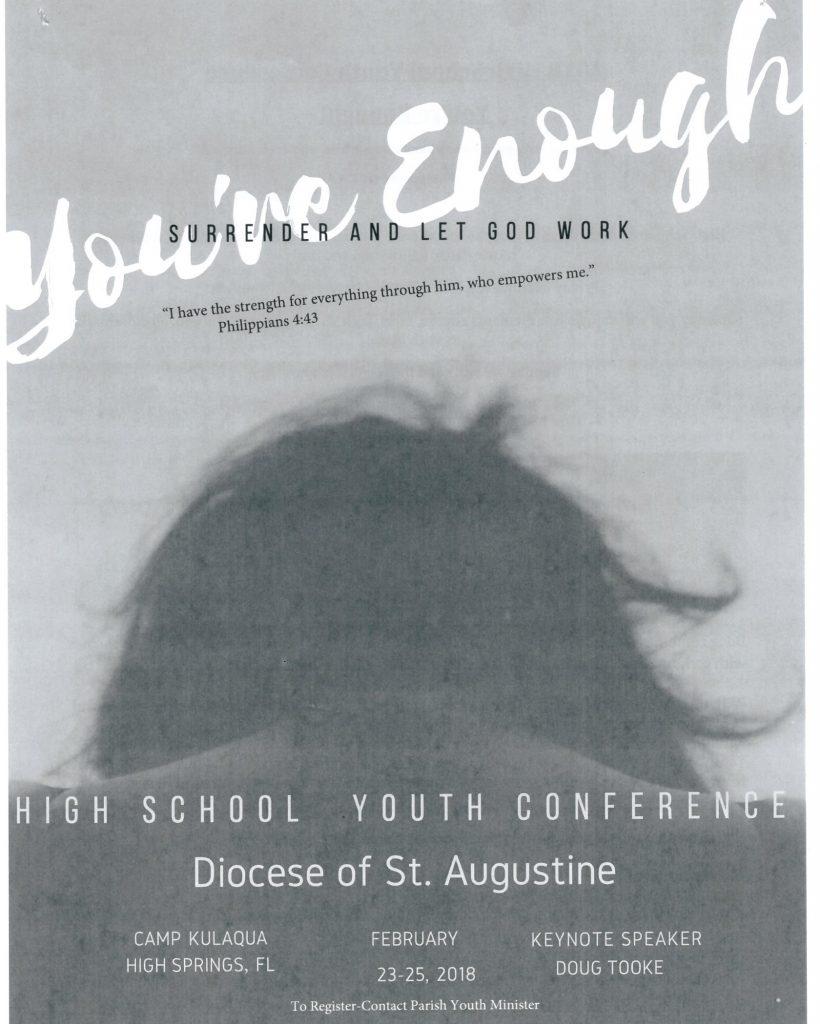 HS Conference flyer