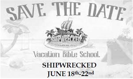 20180422 Save the Date Vacation Bible School