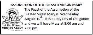 20180812 Feast of the Assumption pic