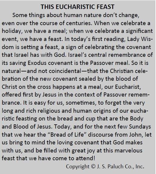 20180819 The Eucharistic Feast pic