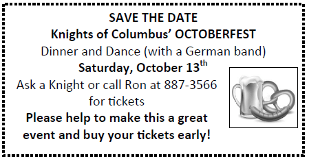 20180909 Knights Octoberfest Save Date