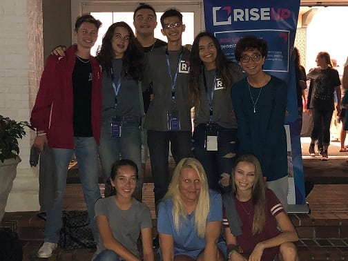 20180928 HS RISEUP Event w Elevator Member shrunk