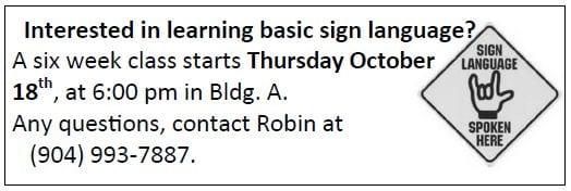 20181014 Basic Sign Language training