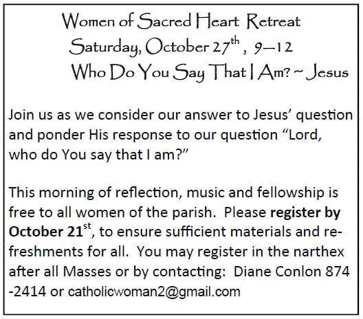 20181014 SH Womens Retreat