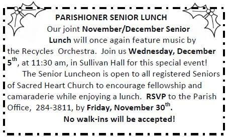 20181104 Senior Luncheon