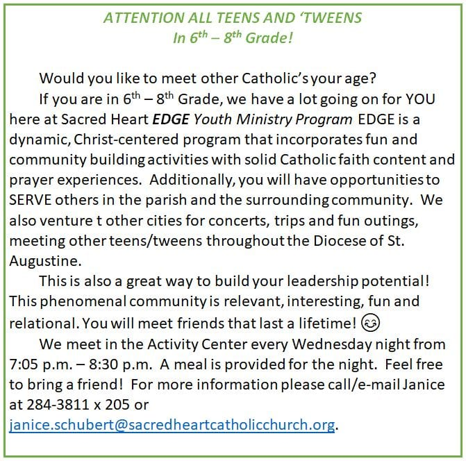 20181118 YM Attention Teens and Tweens recruit