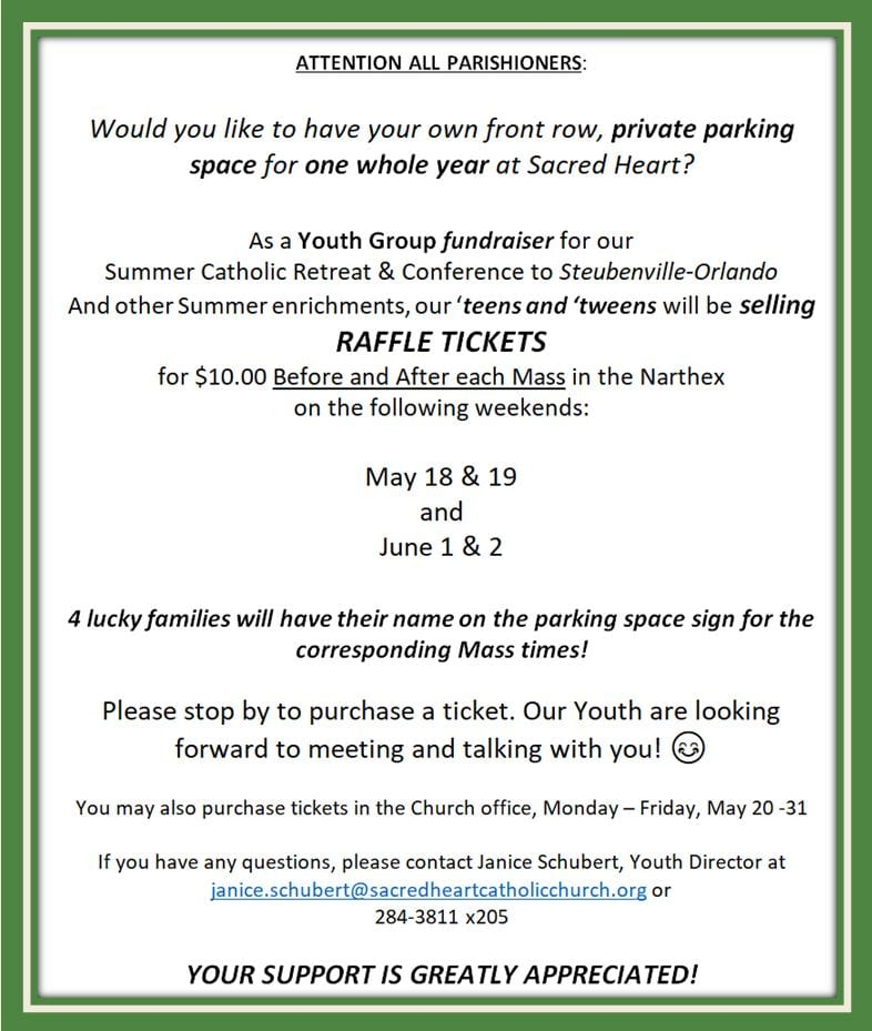 20190512 YM Raffle for Parking Space 3