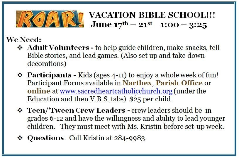 20190526 Vacation Bible Study details pic