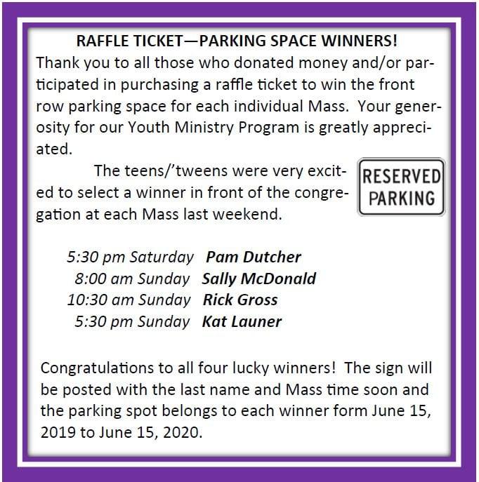 20190623 YM Winners of Parking Space
