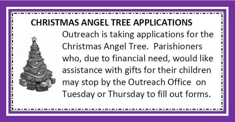 20191117 Christmas Tree Angel Applications