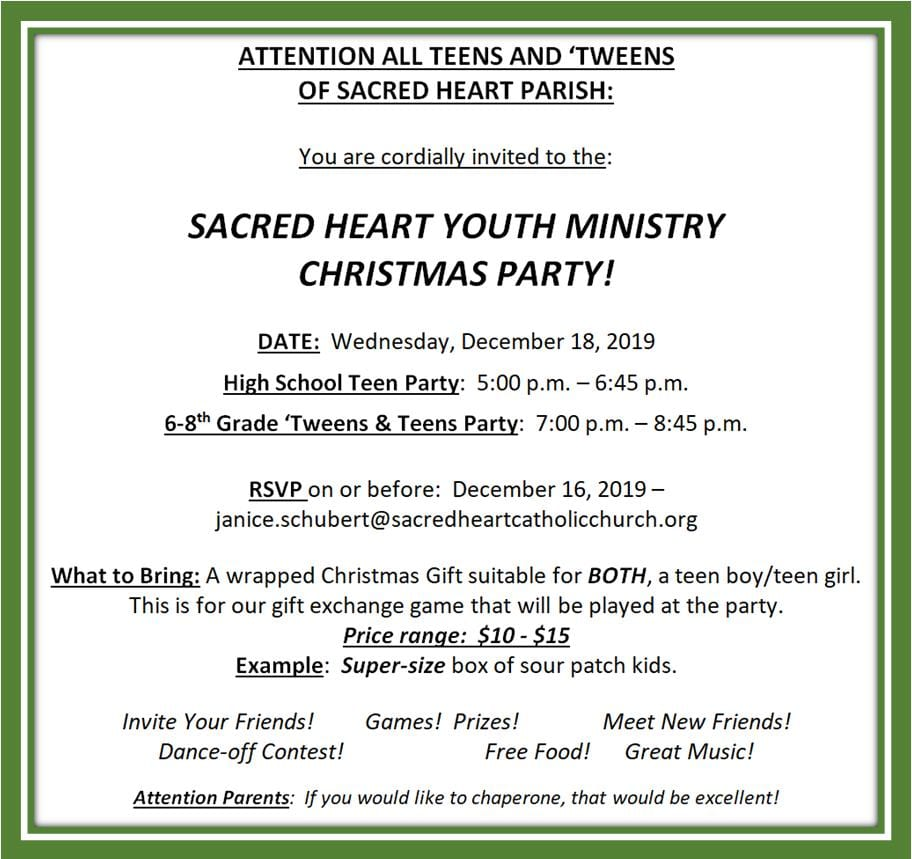 20191208 YM Christmast Party invite 20191218