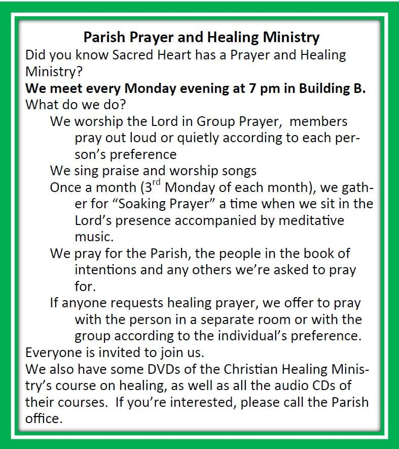 20200223 Prayer and Healing Ministry pic