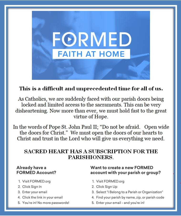 20200329 FORMED Faith at Home SH has Subscription
