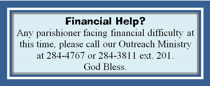 20200406 Contact Outreach for Financial Help