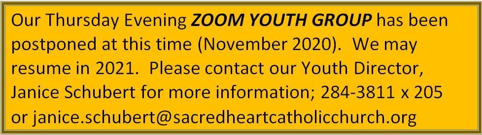 20201031 YM Zoom Mtg Postponed till new year