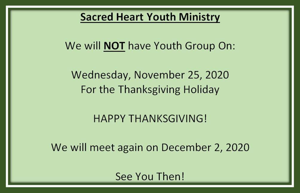 20201107 YM Thanksgiving Schedule
