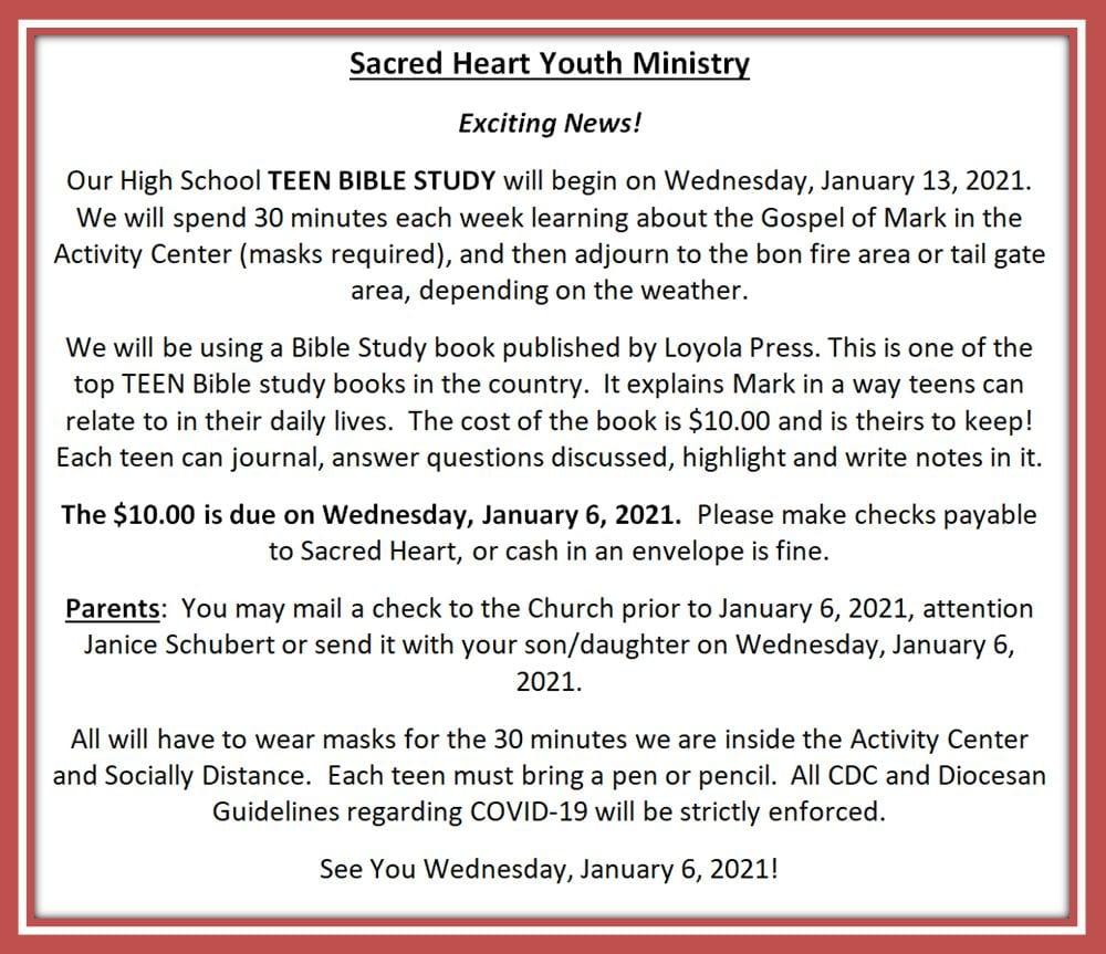 20200106 YM Teen Bible Study