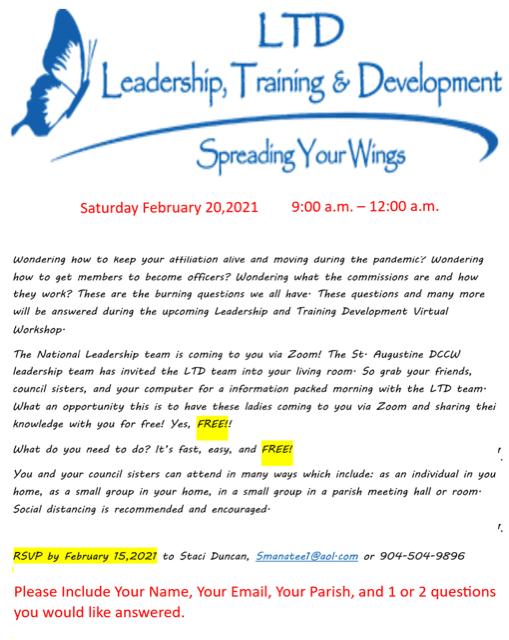 20210122 CCW a LTD Workshop 2-20-2021