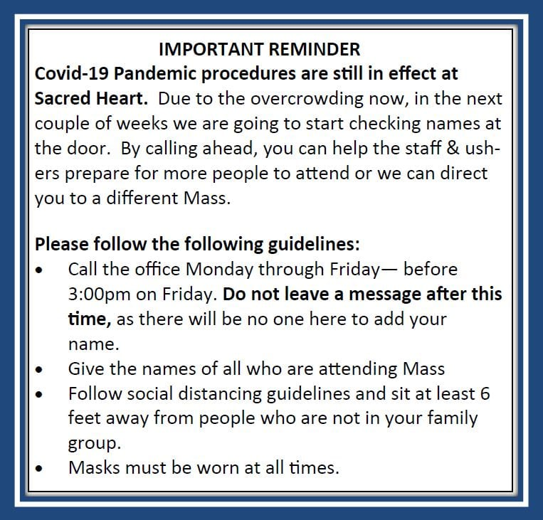 20210213 Pandemic Reminder-Services&Home