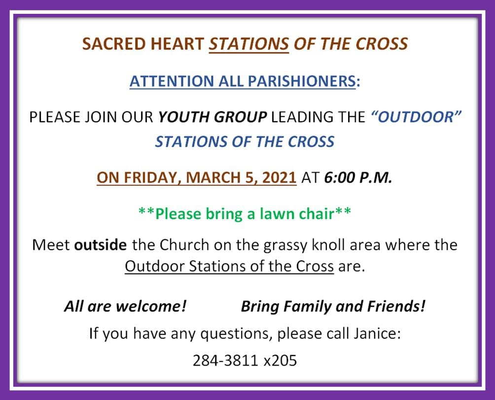 20210219 YM Leading March 5th Stations of the Cross
