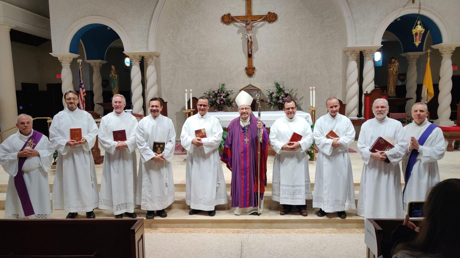 20210704 DOSA_Diaconate_Lector_Ministry Bishop Estevez_Dec 2020