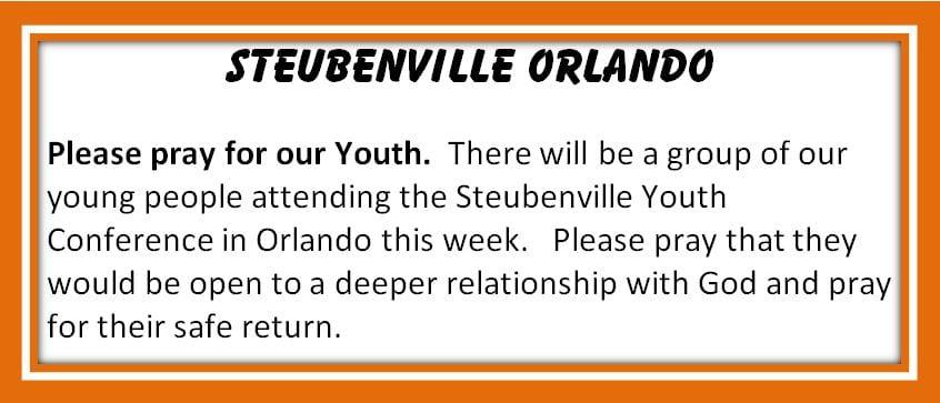 20210709 YM Steubenville Orlando Please pray1