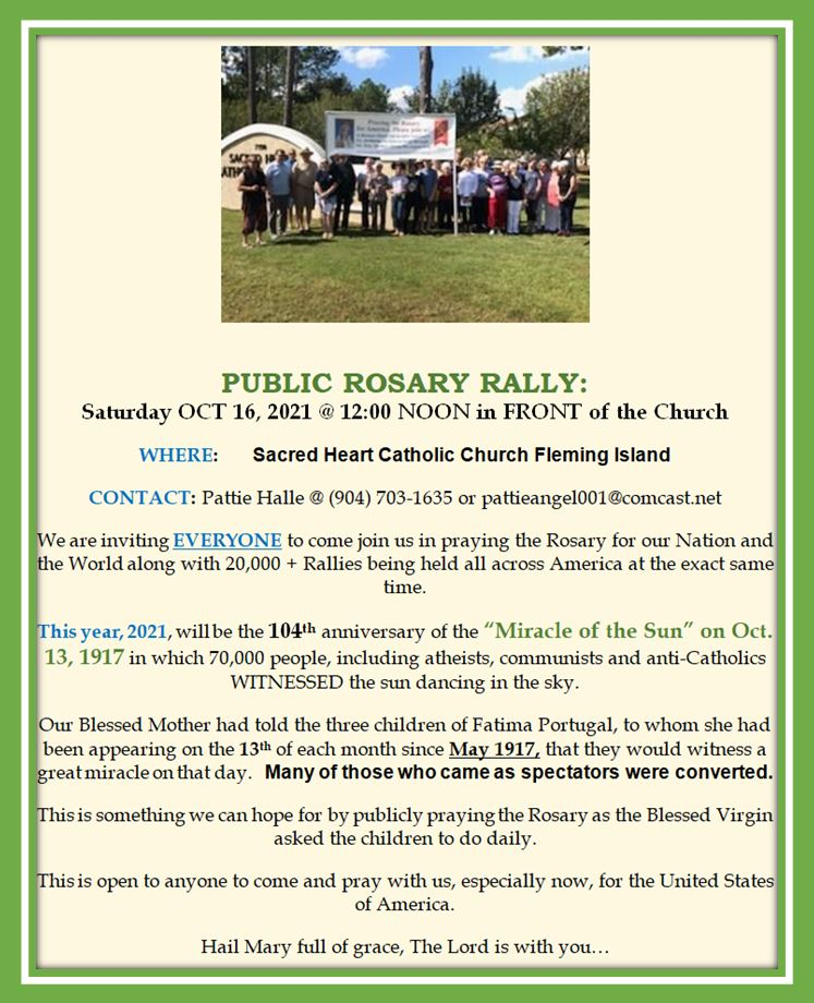 20210918 CCW Public Rosary Rally Oct 16 2021